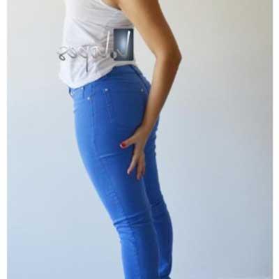 looks com calças azul