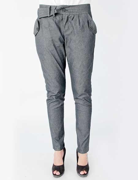 calças de sarja