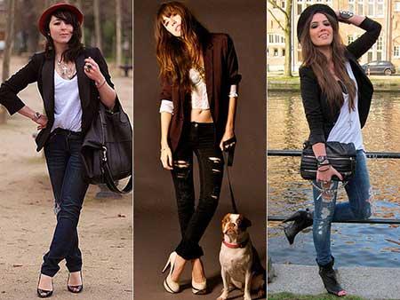 imagens de looks com calças