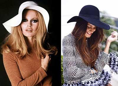 chapéis da moda