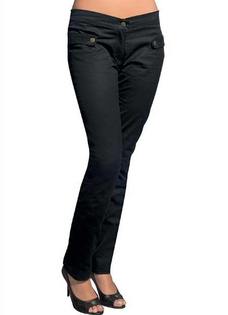 fotos de calças de sarja