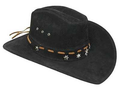 chapéu de couro