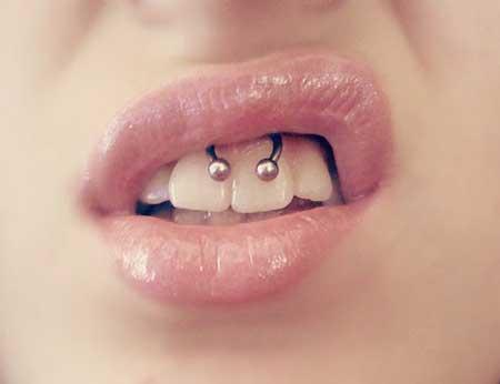 fake piercing