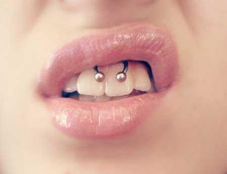 piercings na boca