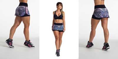 modelos de short saia