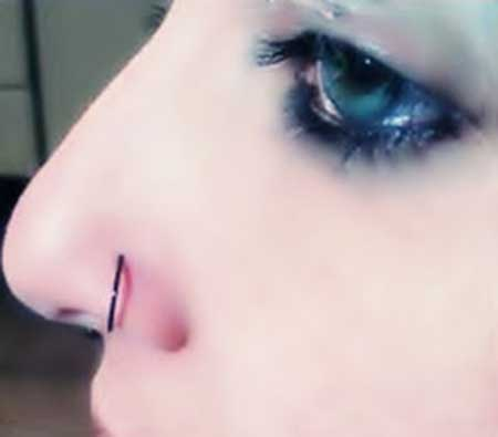 piercings falsos