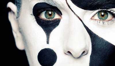 imagens de maquiagens artísticas