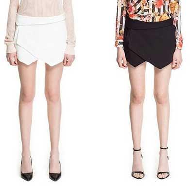 modelo de short saia