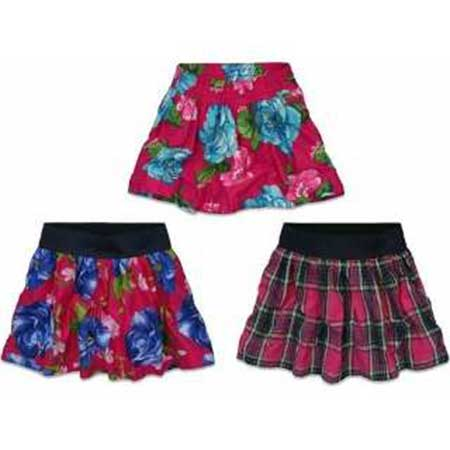 imagens de como usar saias rodadas