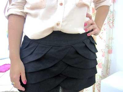 imagens de shorts saia