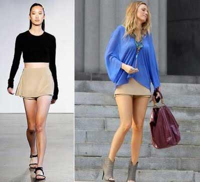 looks com shorts saia