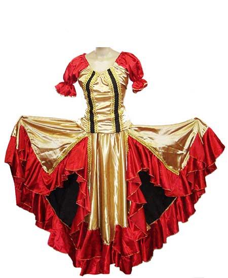 imagens de vestidos ciganos