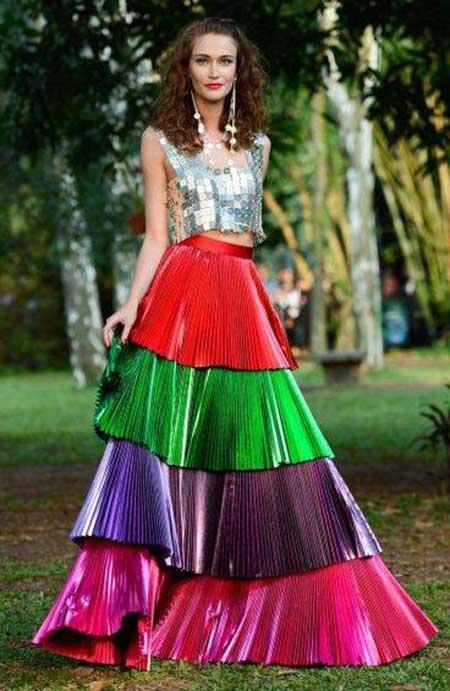 fotos de vestidos ciganos