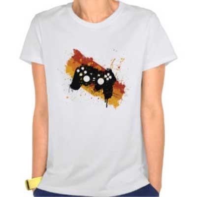 fotos de camisetas de games