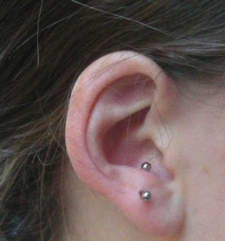 fotos de piercing na orelha