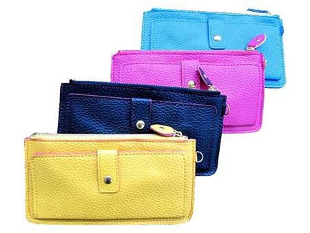 fotos de carteiras coloridas