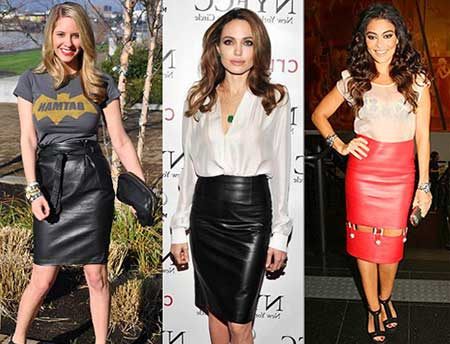 tendências de saias