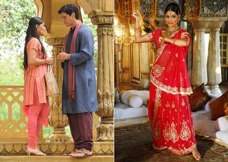 fotos da moda indiana