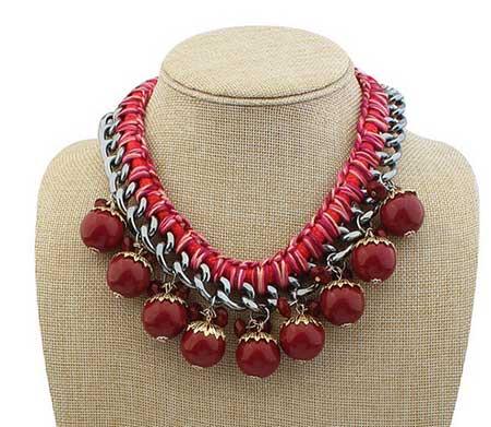 tendências de colares