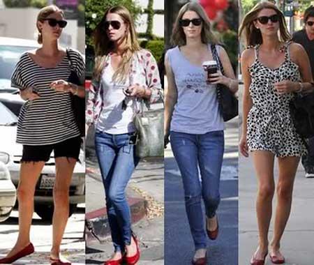 tendências de looks