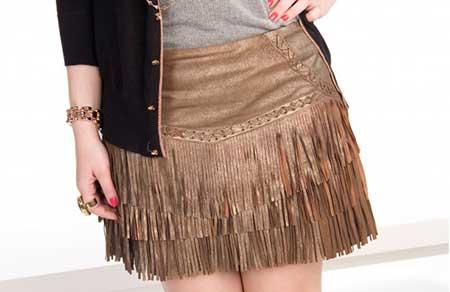 imagens de saia de couro