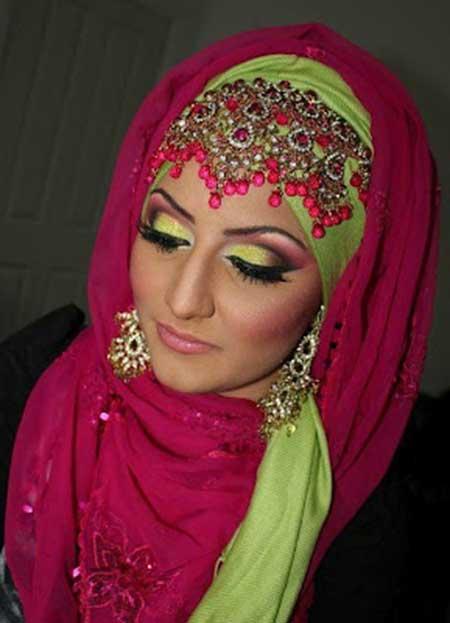 maquiaagem indiana