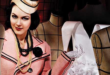 tendências da moda anos 50