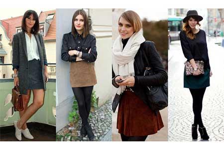 fotos de saias pretas