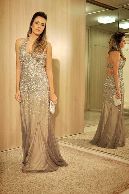 fotos de vestidos longos