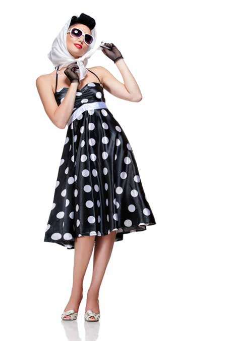 vestido de bolinha