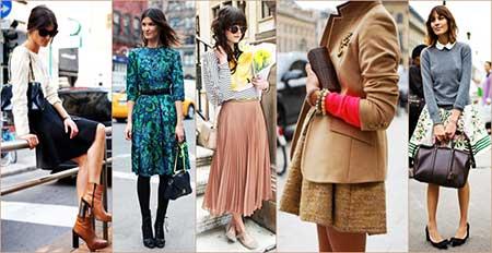 looks da moda vintage