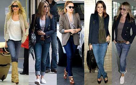 Looks básicos da moda