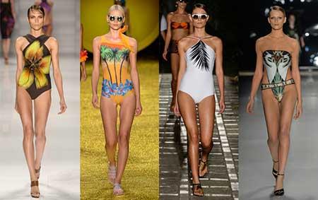 tendências femininas da moda praia