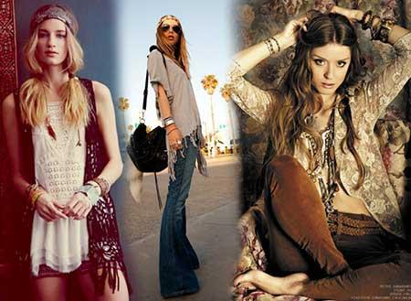 fotos de roupa de hippies
