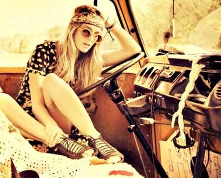 modelos de roupa de hippies