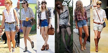 imagens de shorts da cintura alta