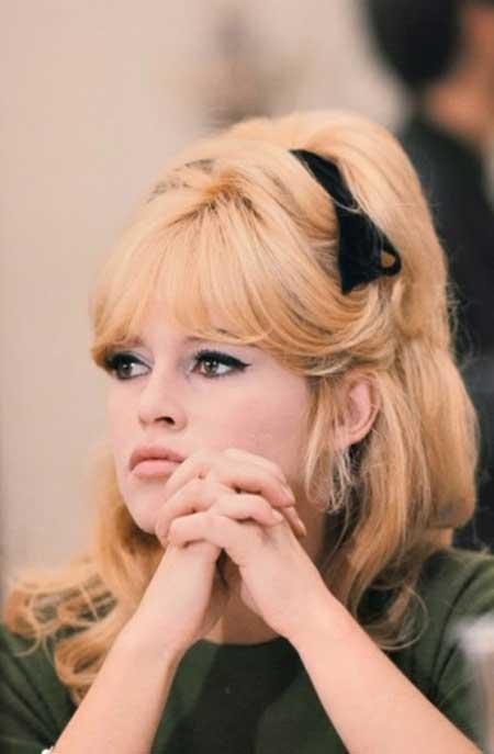penteados anos 60