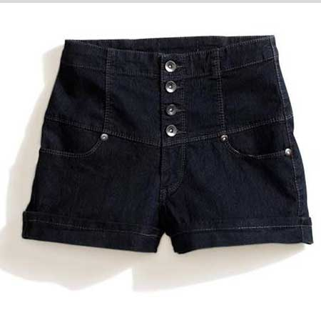 shorts da cintura alta