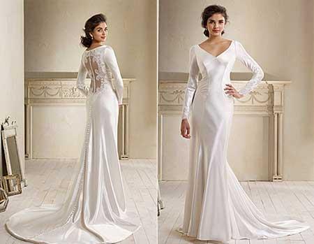 vestido de noiva para matrimônio
