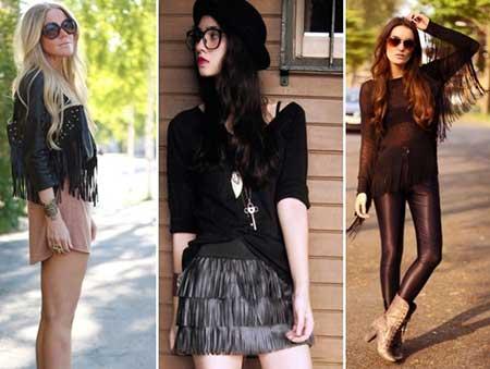 roupas da moda anos 70