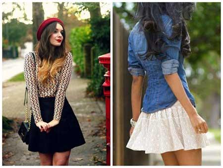 saias da moda feminina 2016