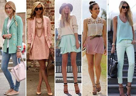 cor da moda