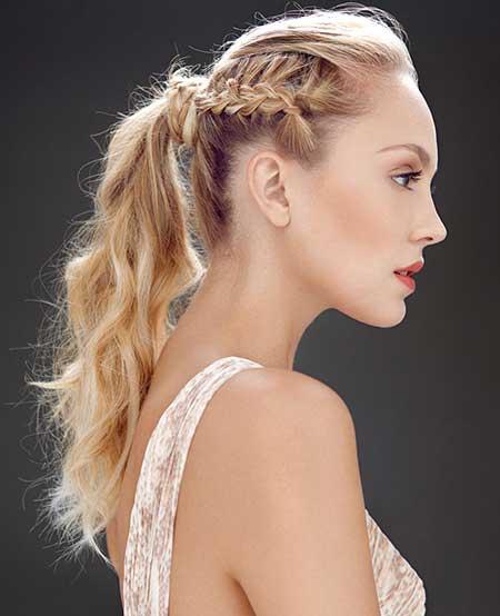 penteados tranças laterais