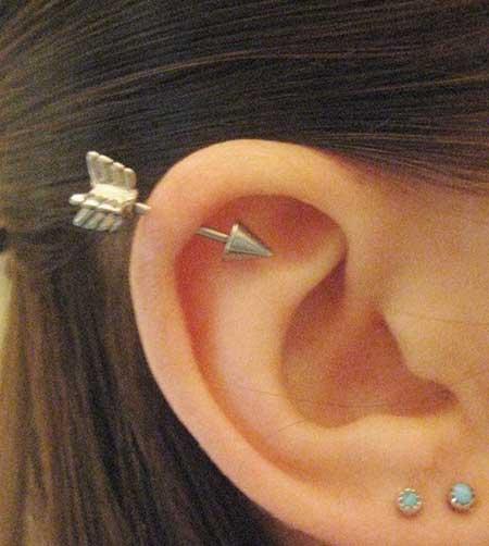 dica de piercing na orelha