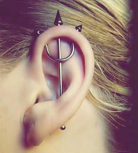piercing na cartilagem