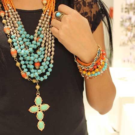 colares da moda