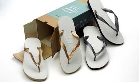 lançamentos da coleção de chinelos