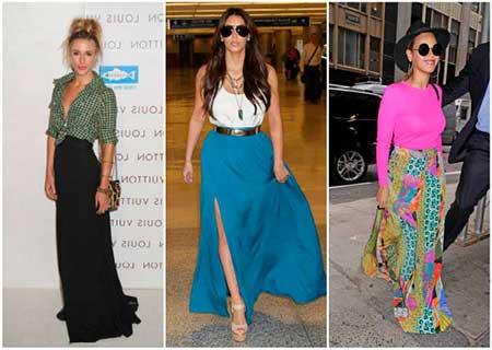 tendências da saias da moda