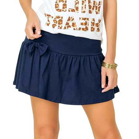 modelo de mini saia