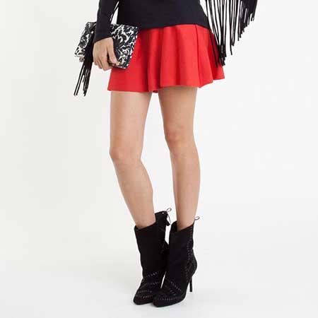 mini saia da moda